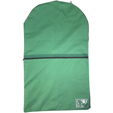 Front of Dura-Tech Standard Garment Bag in Hunter Green