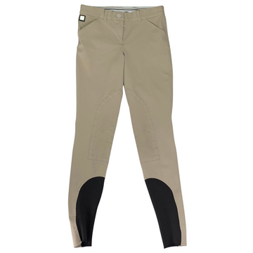 Equiline Boston Knee Patch Breeches in Tan