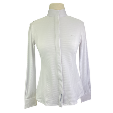 Animo 'Prias' Show Shirt in White - Women's Small