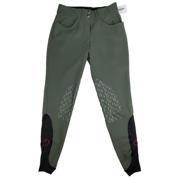 Cavalleria Toscana American High Rise Breeches in Green - Women's IT 40 (US 26)