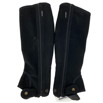 Dublin Easy Care Half Chaps in Black