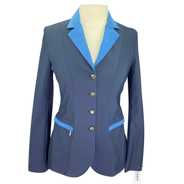 Sarm Hippique Verbania Show Jacket in Navy