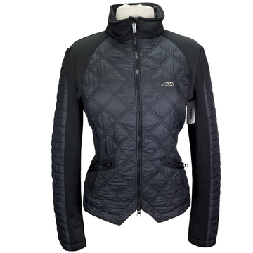 Equiline Zip-Up Jacket in Black - Women's XL