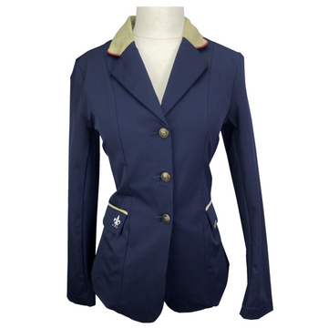 Equine Couture Debbie Stephens Show Coat in Navy - Women's 4
