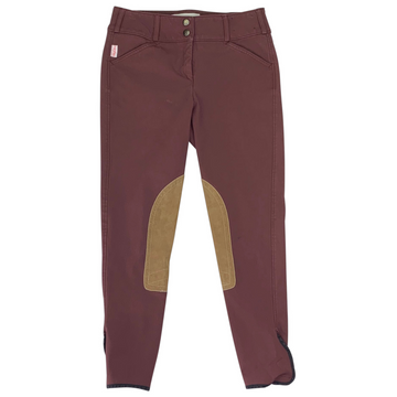 Tailored Sportsman Trophy Hunter Breeches in Bordeaux