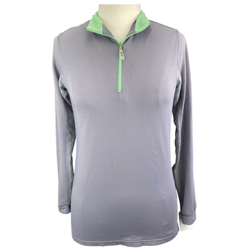EIS Cool Shirt in Grey/Green - Women's Medium