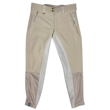 Ovation Microcord Full Seat Breeches in Tan - Women's 32