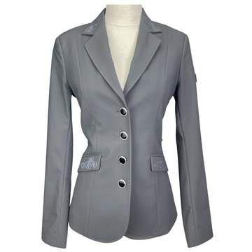 Equiline X-Cool Technical Competition Jacket in Grey - Women's IT 40 (US 4)