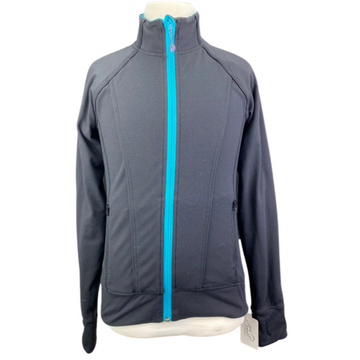 Ivivva Reversible Jacket in Black/Teal Multi