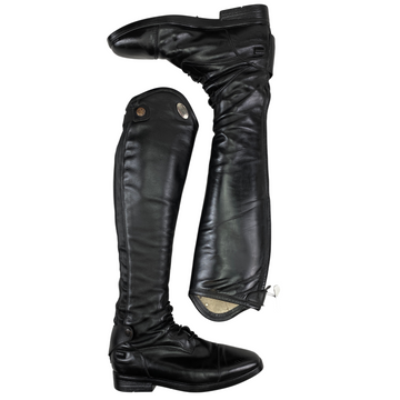 Parlanti Miami Essential Field Boots in Black - EU 37 SH+ (US 6-6.5 Small/Tall)