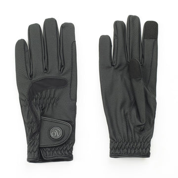 Ovation LuxeGrip StretchFlex Glove in Black