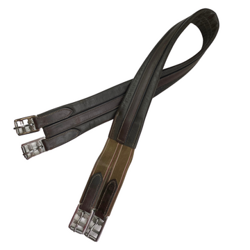 Single End Elastic Girth in Brown - 50