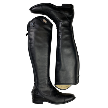 Parlanti Dallas Field Boots in Black