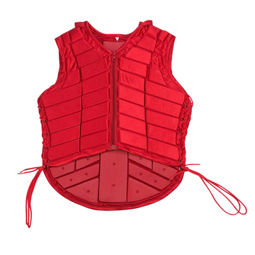 Eventer Vest in Red