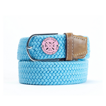 Hunt Club 'The Derby Belt' Limited Edition in Devon w/ Pink Emblem