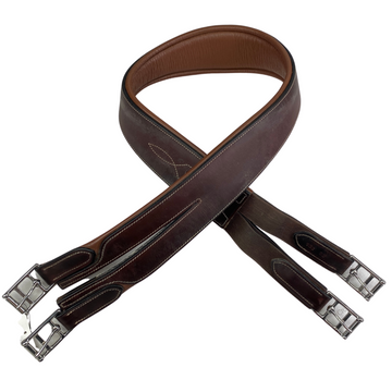 Arc De Triomphe Single End Elastic Contour Girth in Brown - 52
