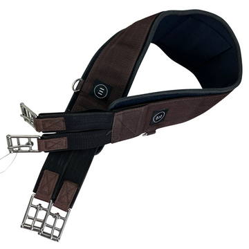 Equifit Essential Schooling Girth in Brown - 46