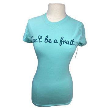 front of Hunt Club 'Mind Your Melon' Tee in Sky Blue - Women's Small