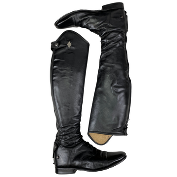 Fabbri Field Boots in Black - Women's 42 ET/M (US 11-11.5 Extra Tall/Medium)