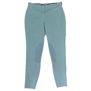 B Vertigo Melissa Knee Patch Breeches in French Blue