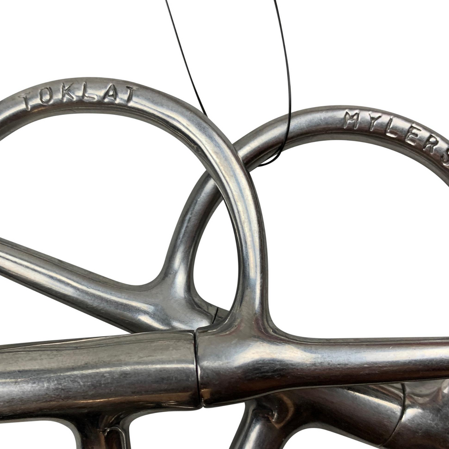 Myler Full Cheek Comfort Snaffle in Stainless Steel