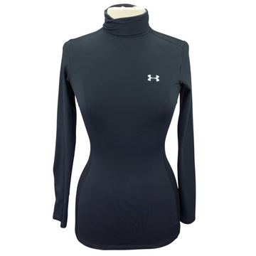 Under Armour Turtleneck Compression Base Layer in Black