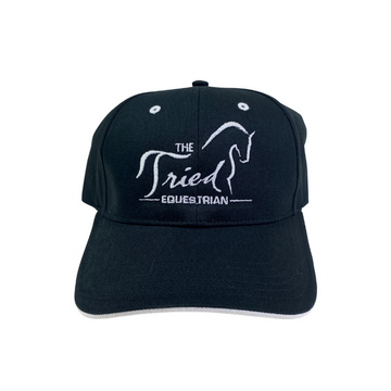 Tried Equestrian Limited Edition Hats in Black/White Trim - One Size