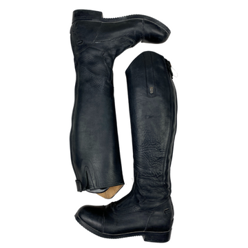 Side of Tredstep Donatello Field Boot in Black