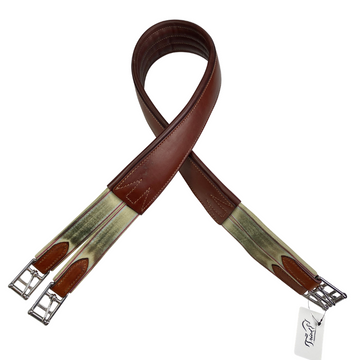 Edgewood Double End Elastic Girth in Brown - 54
