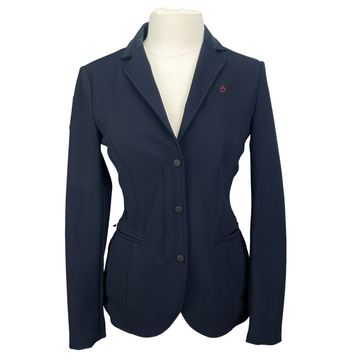 Cavalleria Toscana Zip Show Jacket in Navy - Women's IT 44 (US 12)