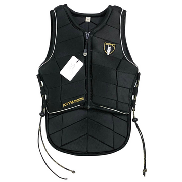 Tipperary Eventer Pro Safety Vest in Black