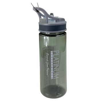 Platinum Performance Water Bottle in Grey