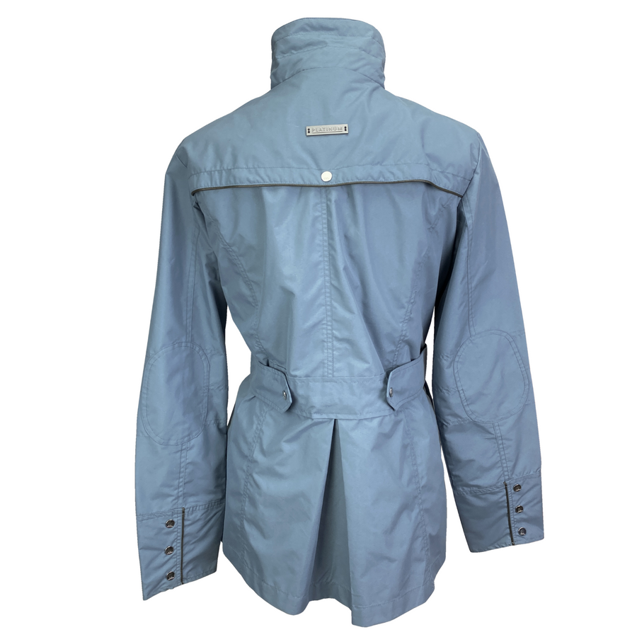 Back of AA Platinum Isabella Jacket in Aviation Blue - Women's Large