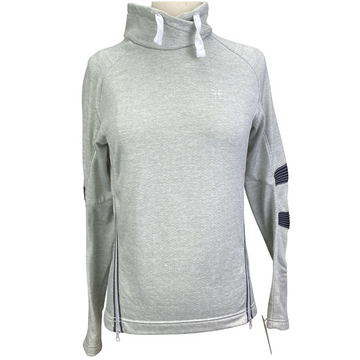 Horse Pilot Summer Tempest Sweatshirt in Grey.