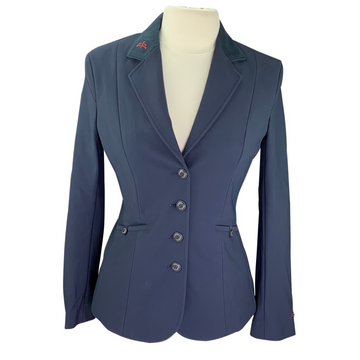 MaKeBe Cindy Tech Fabric Show Coat in Navy