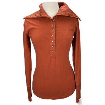 Gersemi 'Marina' Top in Rust - Women's Medium