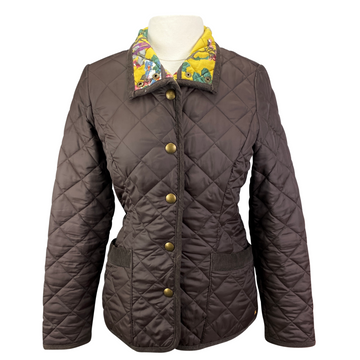 Joules Padded Jacket in Brown - Women's Medium