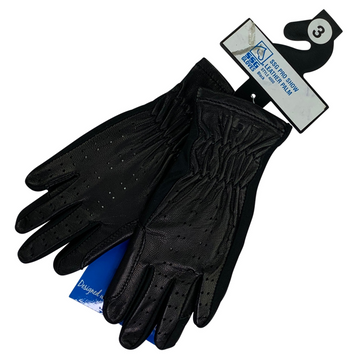 SSG Pro Show Leather Palm Gloves in Black