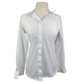 Beacon Hill Coolmax Collection Show Shirt in White - Women's 36 (Medium)
