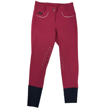IAGO Donna Breeches in Red - Women's IT 40 (US 26)