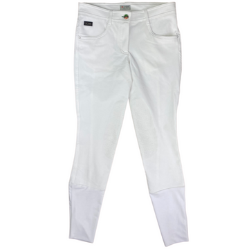 IAGO Donna Breeches in White