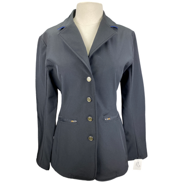 Romfh Dry Shell Competition Jacket in Black/Blue Accents - Women's 16R
