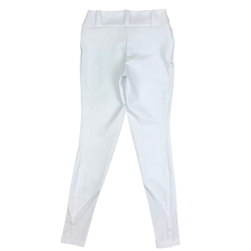 Back of Reigns 'The Finja' Breeches in White
