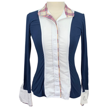 Le Fash Shirt in Navy/White