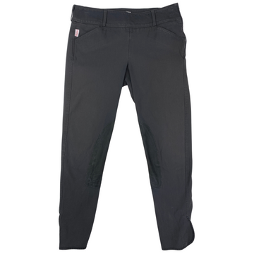 Tailored Sportsman Trophy Hunter Breeches in Charcoal - Women's 28R