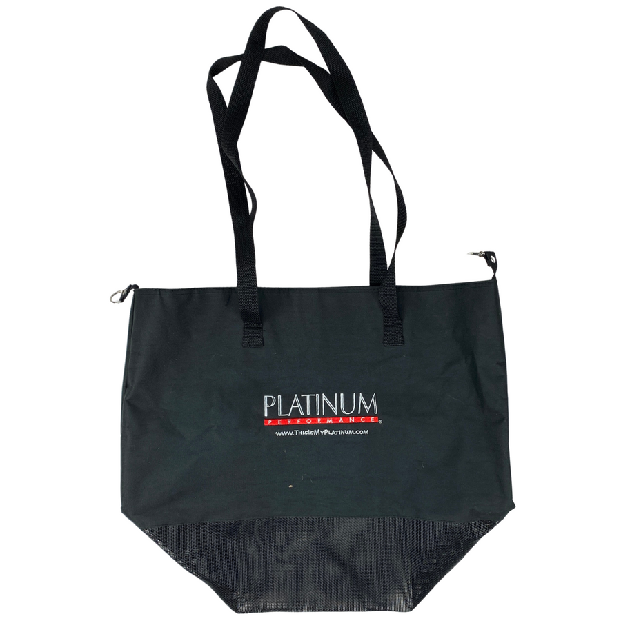 Platinum Performance Tote Bag in Black