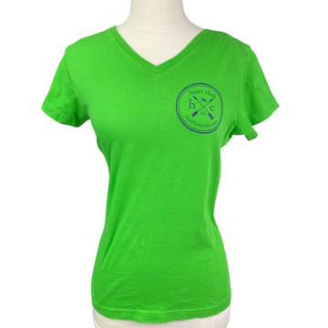 Hunt Club Logo Tee in Lime Green - Women's Small