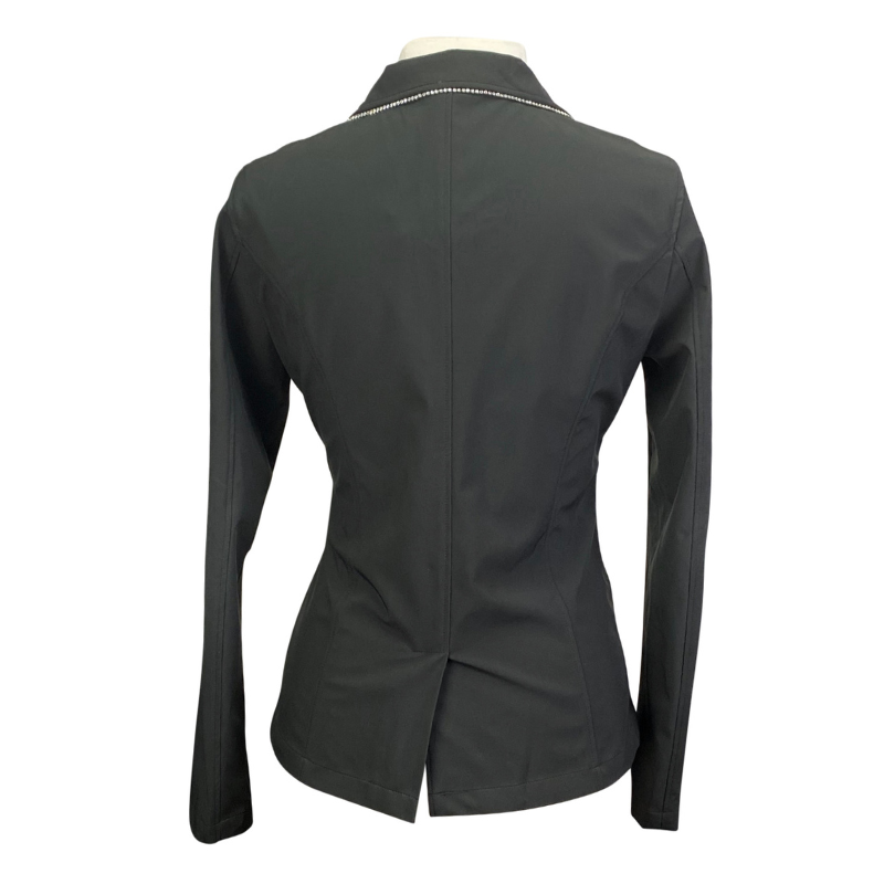 Back of Horseware Show Jacket in Black