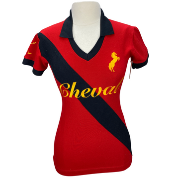 Cheval Polo in Red - Women's Medium