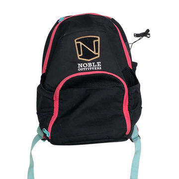 Noble Equestrian Horseplay Backpack in Black/Pink